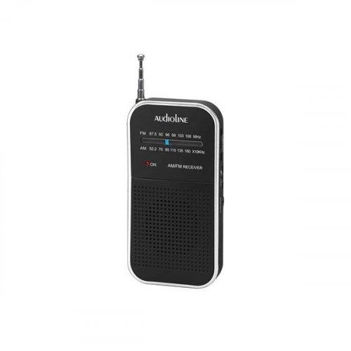 Ραδιόφωνο Φορητό Αναλογικό Μαύρο-Άσπρο TR-350 Audioline