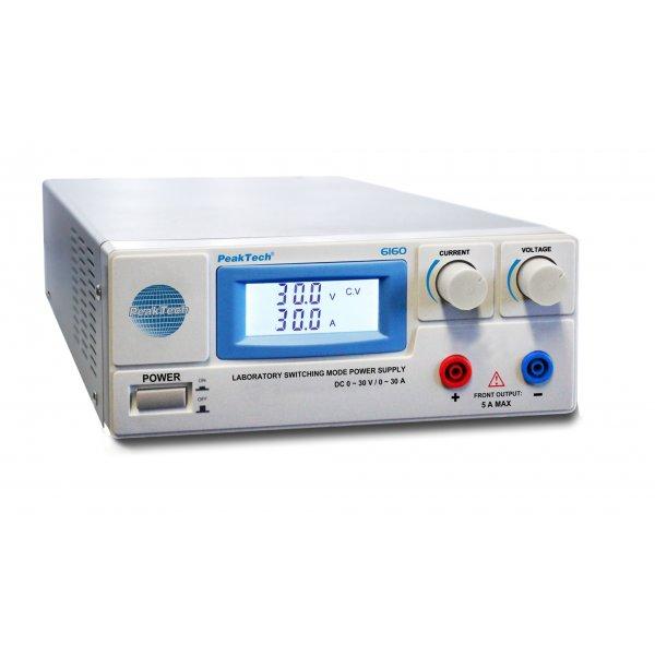 Τροφοδοτικό πάγκου Switching 230V -> 1-30VDC / 0-30A  6160 PeakTech