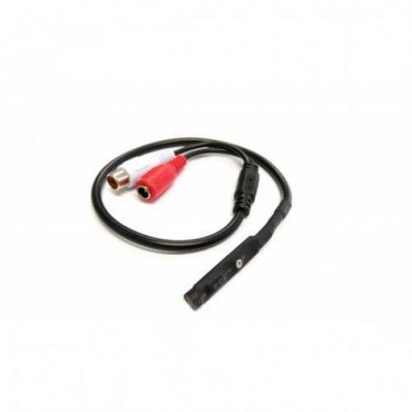 Μικρόφωνο κάμερας 12V DC ρυθμιζόμενης ευαισθησίας mic Mini