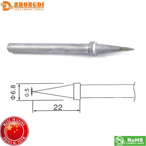 Μύτη κολλητηριού 0.5mm C1-26 για το σταθμό κόλλησης ZD98/99 Zhongdi