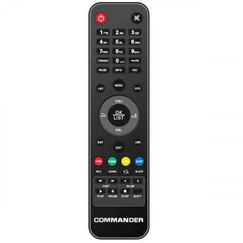 Τηλεχειριστήριο DVB-S2 HD 1000-8300-8500 Commander
