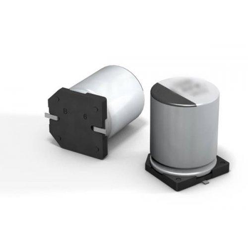 Πυκνωτής ηλεκτρολυτικός mini SMD 16V 10μf 4.0x5.4mm EEEFC1C100R Panasonic