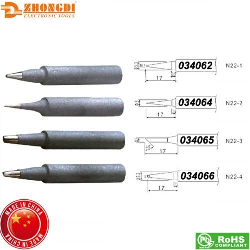 Μύτη κολλητηρίου N22-4 για το κολλητήρι ZD-21 Zhongdi