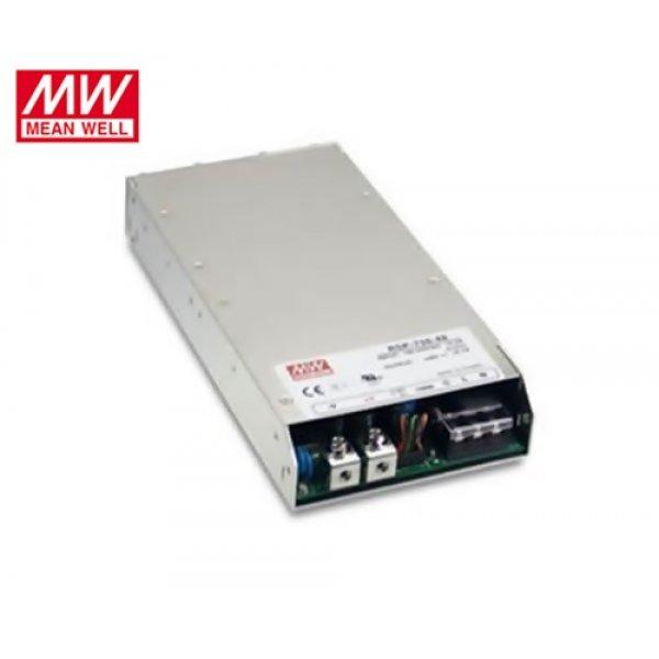 Τροφοδοτικό switch 230V IN -> OUT 12VDC 750W 62.5A κλειστού τύπου RSP750-12 Mean Well