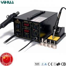 Σταθμός κόλλησης θερμού αέρα με κολλητήρι 700W YH-952D YiHua