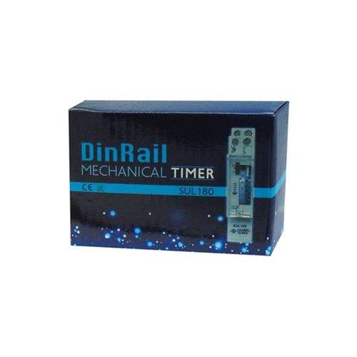 Χρονοδιακόπτης ράγας αναλογικός 230v Dc 16A 1c/o 17mm ημερήσιος SUL180 DQN