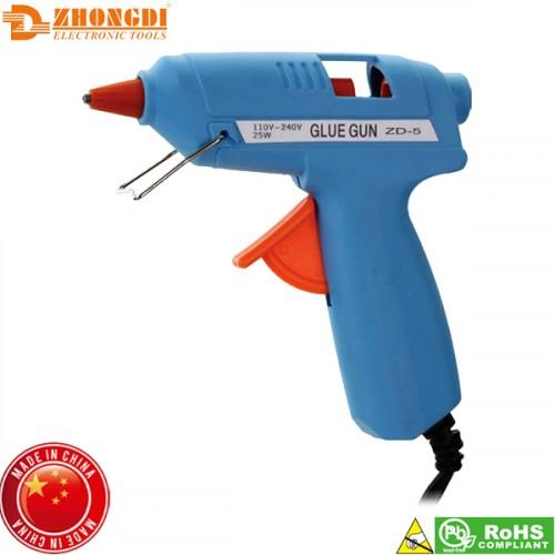 Θερμοκολλητικό πιστόλι σιλικόνης 20W ZD-5A Zhongdi