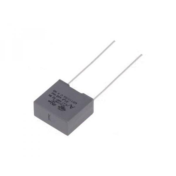 Πυκνωτής πολυπροπυλενίου X2 MKP-440V AC 10nF P10mm KEMET