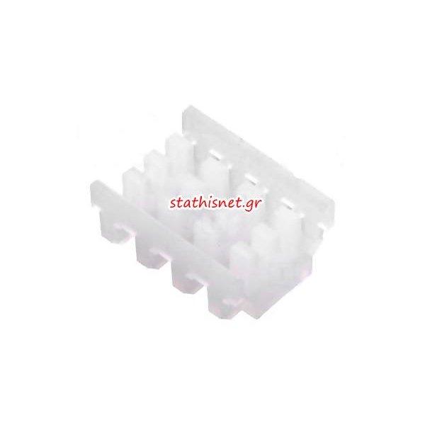 Κάλυμμα για Κονέκτορα CTP100F24-4-D-E  tinned straight for IDC wire-board 1x4 pin pitch 2,54mm SCC100F-4-D Pancon