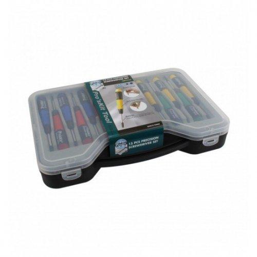 Κατσαβίδια ακριβείας Σετ 15τεμ SW-0118 Pro'sKit