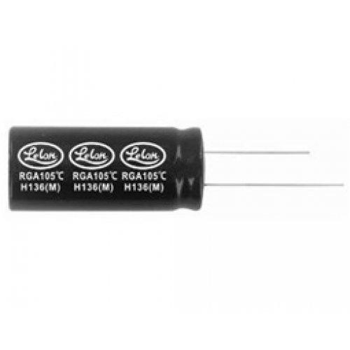 Πυκνωτής ηλεκτρολυτικός TKR 450V 22μF 105*C 16x20mm LELON