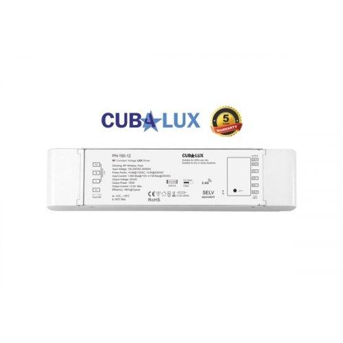 Τροφοδοτικό Led 230V IN -> OUT 24VDC 150W 6,25A IP20 dimmable TΩRA Cuba Lux