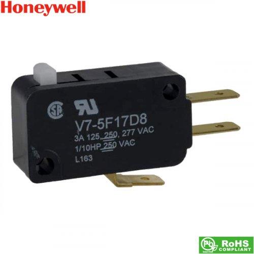 Διακόπτης micro switch χωρίς λαμάκι 3A 250V AC V75F17D8 Honeywell