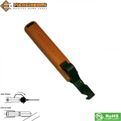 Απογυμνωτής καλωδίων με λεπίδι Φ8-28 SC 3/1C Piergiacomi