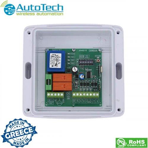 Πλακέτα ελέγχου κινητήρων για τέντες και ρολά 230V AC JK4921S Autotech