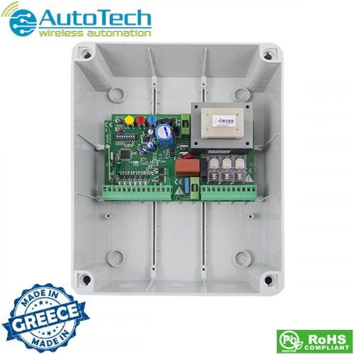 Πλακέτα έλεγχου κινητήρων για ανοιγόμενες πόρτες 230V AC AT8070D Autotech