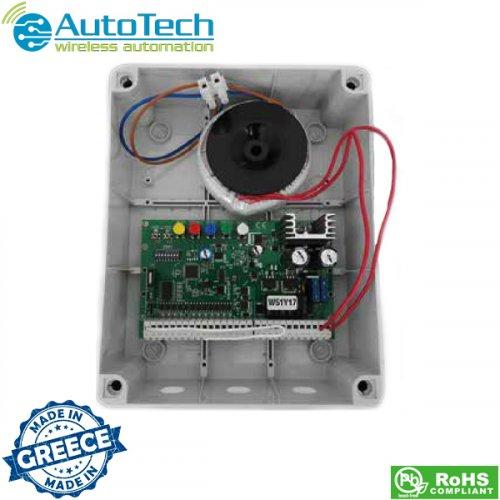 Πλακέτα έλεγχου κινητήρων για δίφυλλη ανοιγόμενη πόρτα 24V DC ΑΤ7075 Autotech