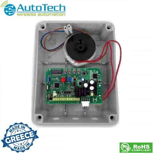 Πλακέτα έλεγχου κινητήρων με encoder για πόρτες οροφής 24V DC AT7070IT Autotech