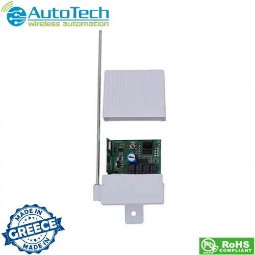 Ψηφιακός δέκτης υπερετερόδυνος 4 καναλιών για κάθε χρήση REC3003-4CH Autotech